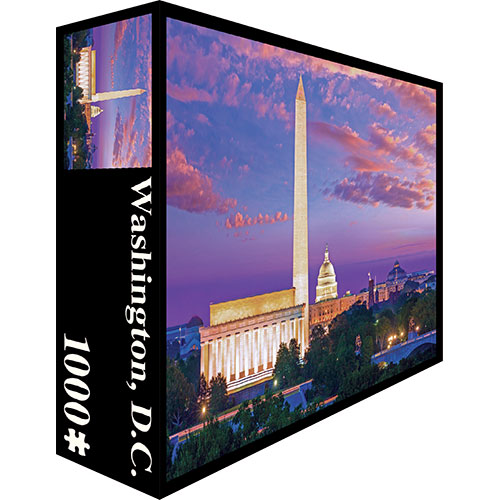 Washington, D.C. - Scratch and Dent Landmarks / Monuments Jigsaw Puzzle