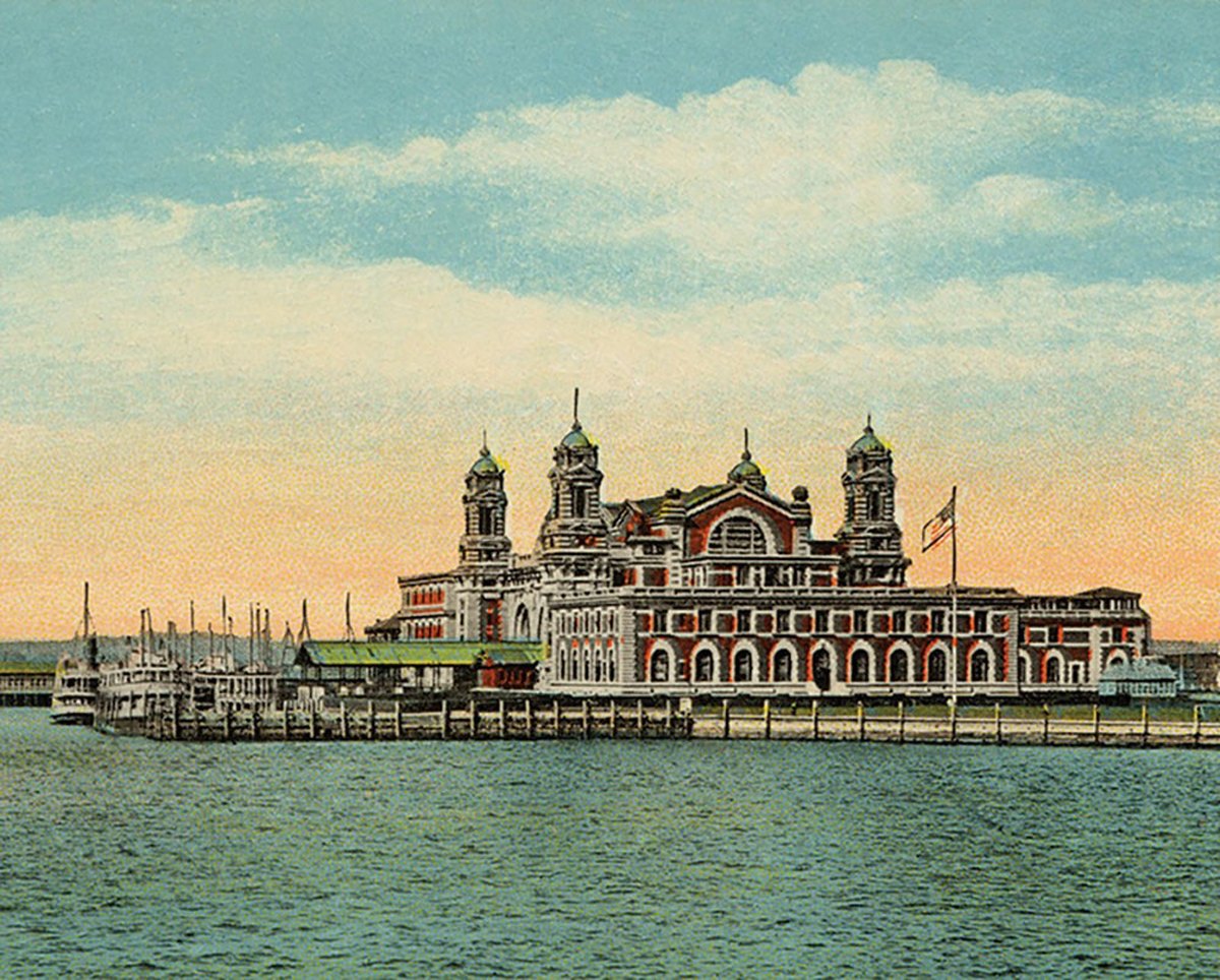Ellis Island Landmarks / Monuments Jigsaw Puzzle