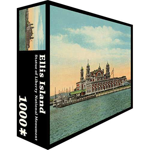 Ellis Island - Scratch and Dent Landmarks / Monuments Jigsaw Puzzle