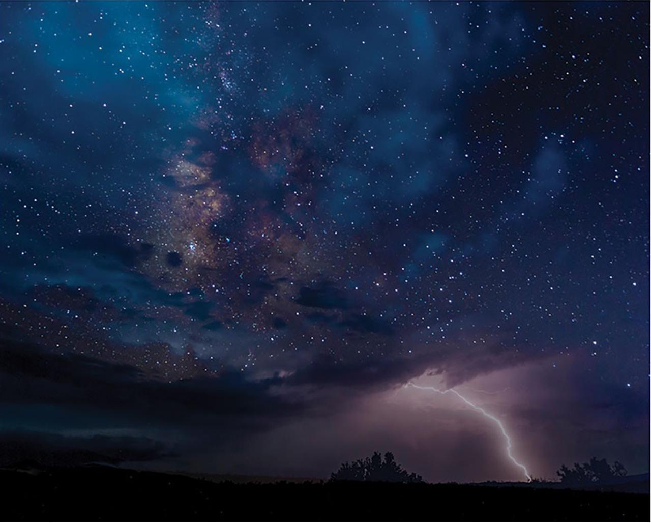 Night Sky Drama Landscape Jigsaw Puzzle