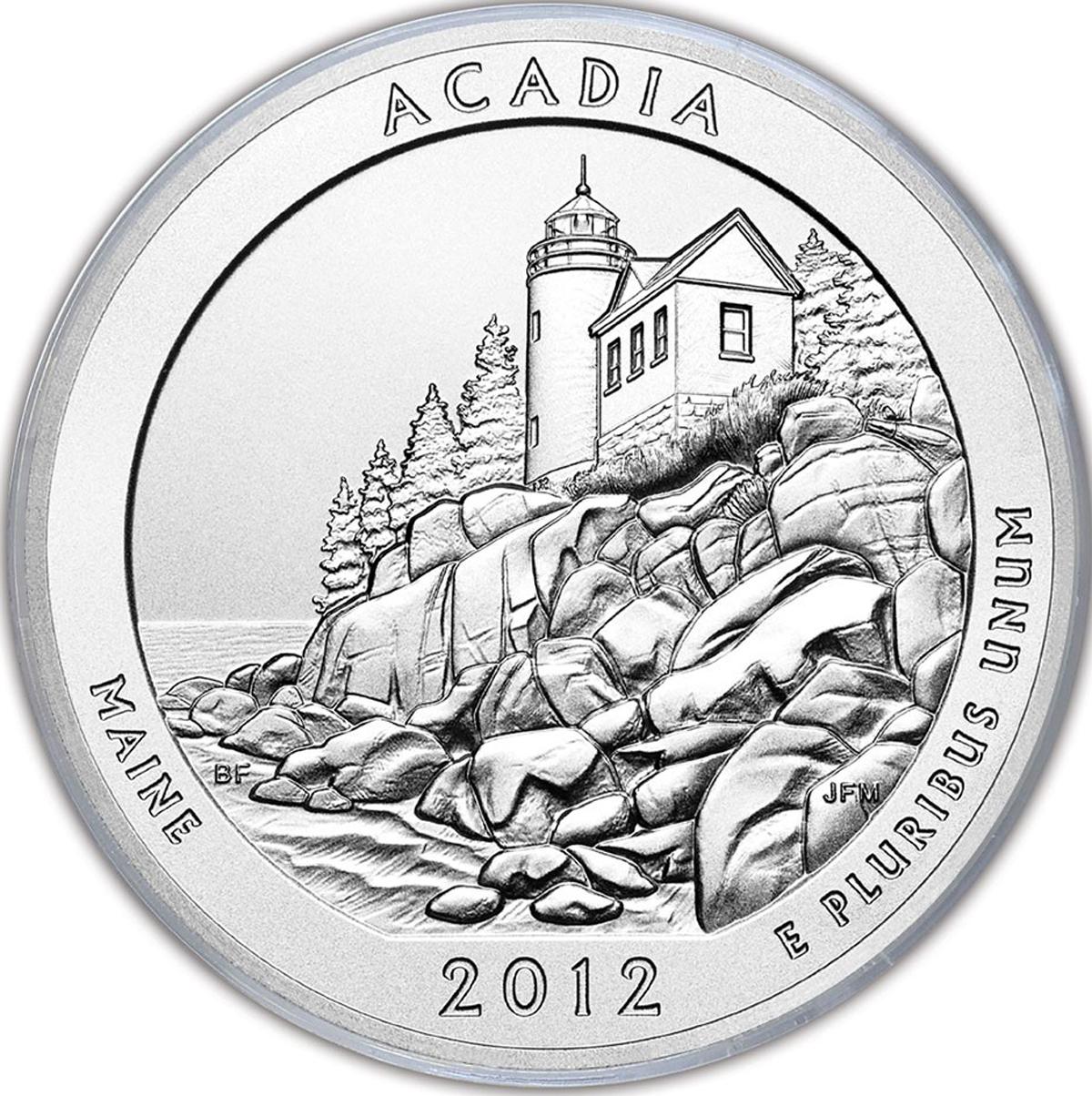 Acadia National Park MiniPix® Puzzle National Parks Jigsaw Puzzle