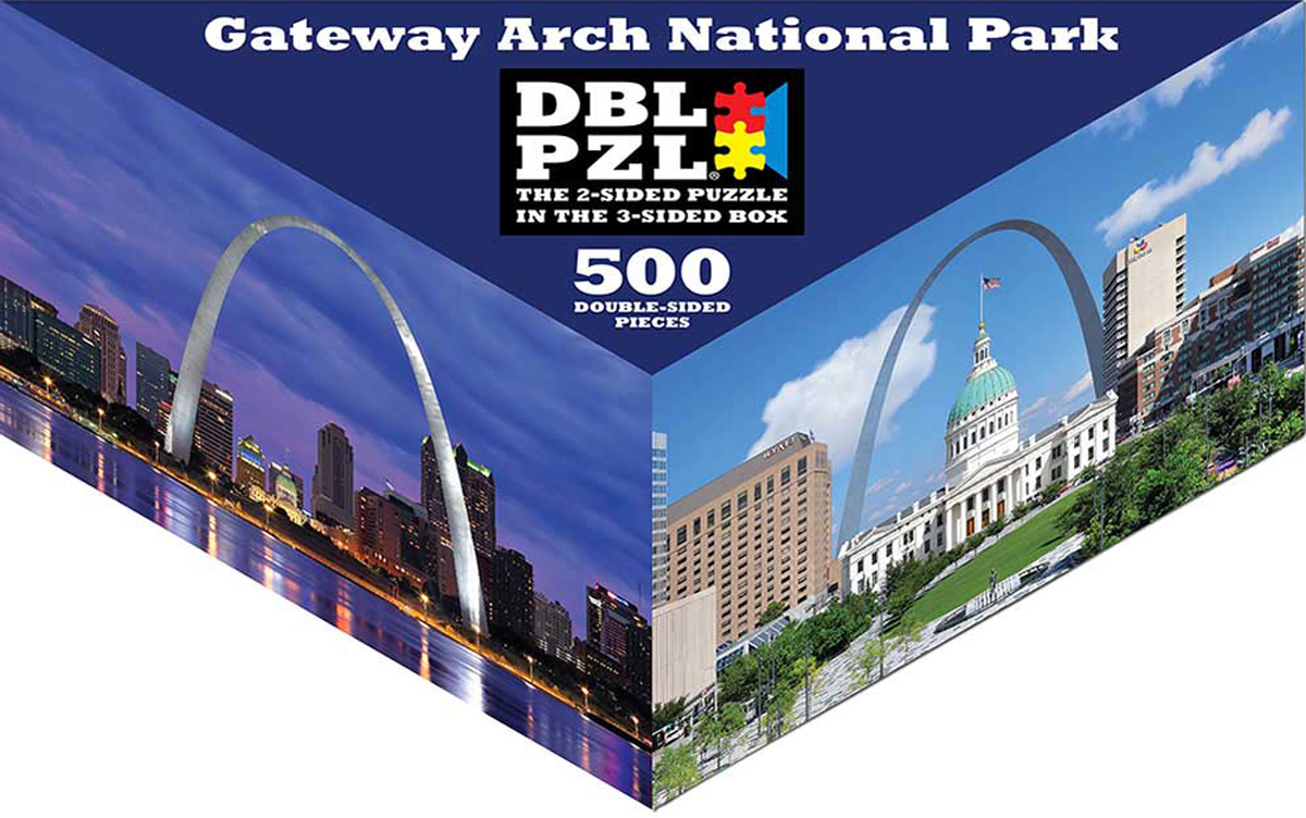 Gateway Arch National Park Landmarks / Monuments Jigsaw Puzzle
