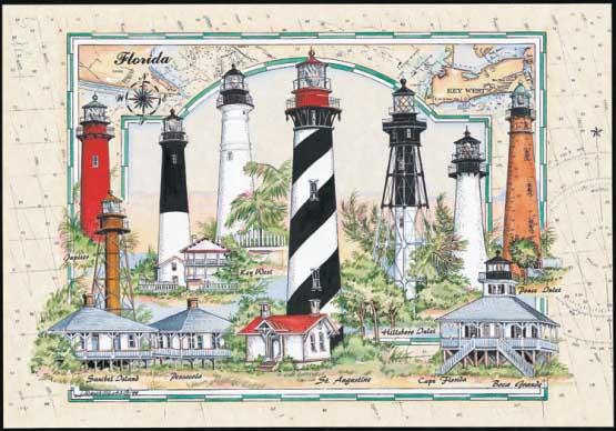 Florida Lighthouse Lighthouses Jigsaw Puzzle