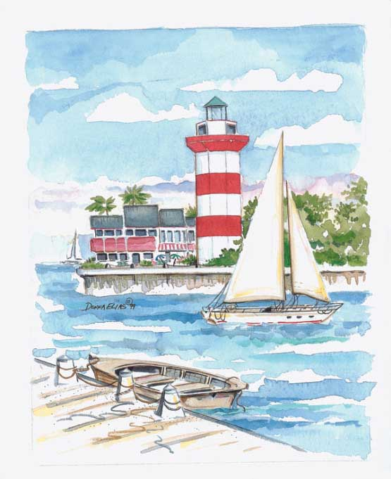 Hilton Head Island Lighthouses Jigsaw Puzzle
