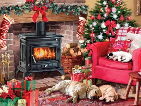 Cozy Christmas Christmas Jigsaw Puzzle
