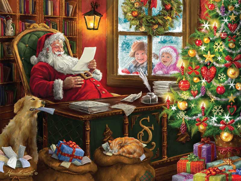 Dear Santa Santa Jigsaw Puzzle