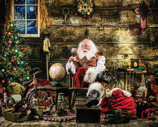 Naughty or Nice Santa Jigsaw Puzzle
