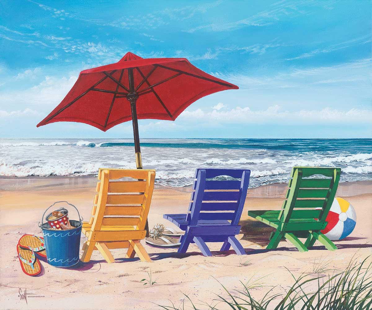 Beachy Keen - Scratch and Dent Beach Jigsaw Puzzle