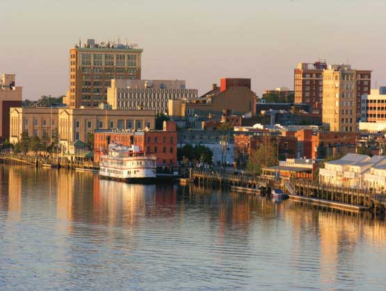 Historic Wilmington Skyline / Cityscape Jigsaw Puzzle