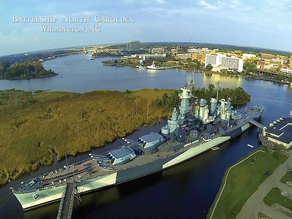 Battleship North Carolina Boats Jigsaw Puzzle