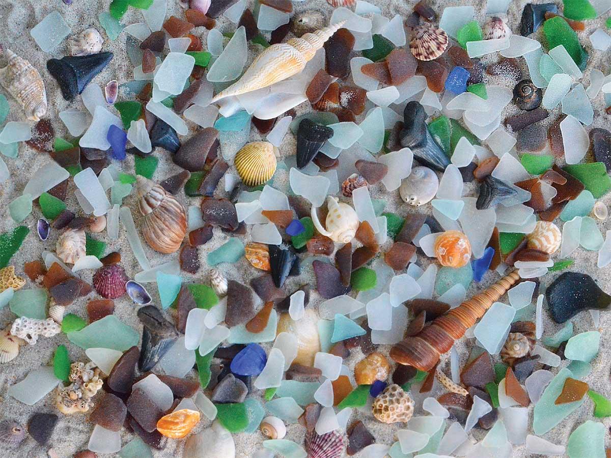 Beach Treasure Beach Jigsaw Puzzle