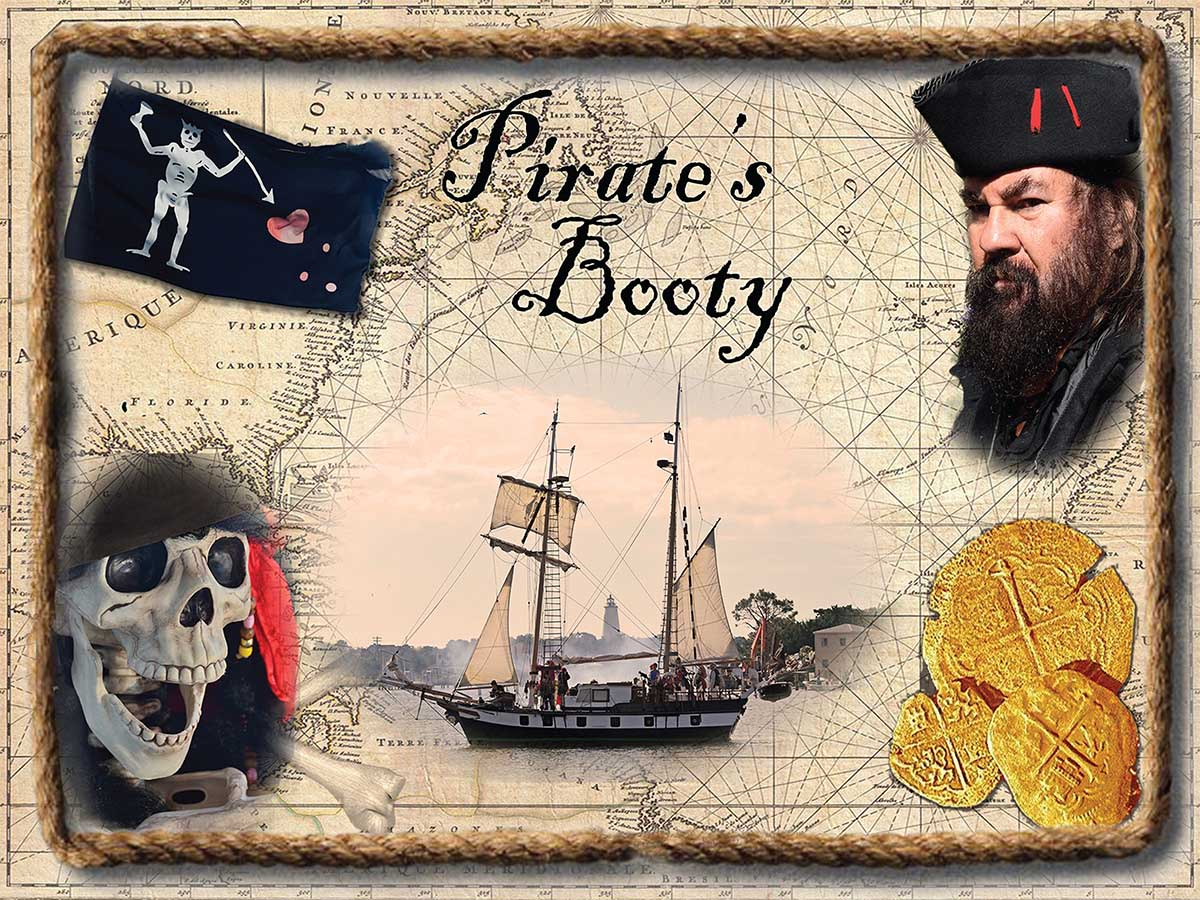 Pirate's Booty Pirates Jigsaw Puzzle
