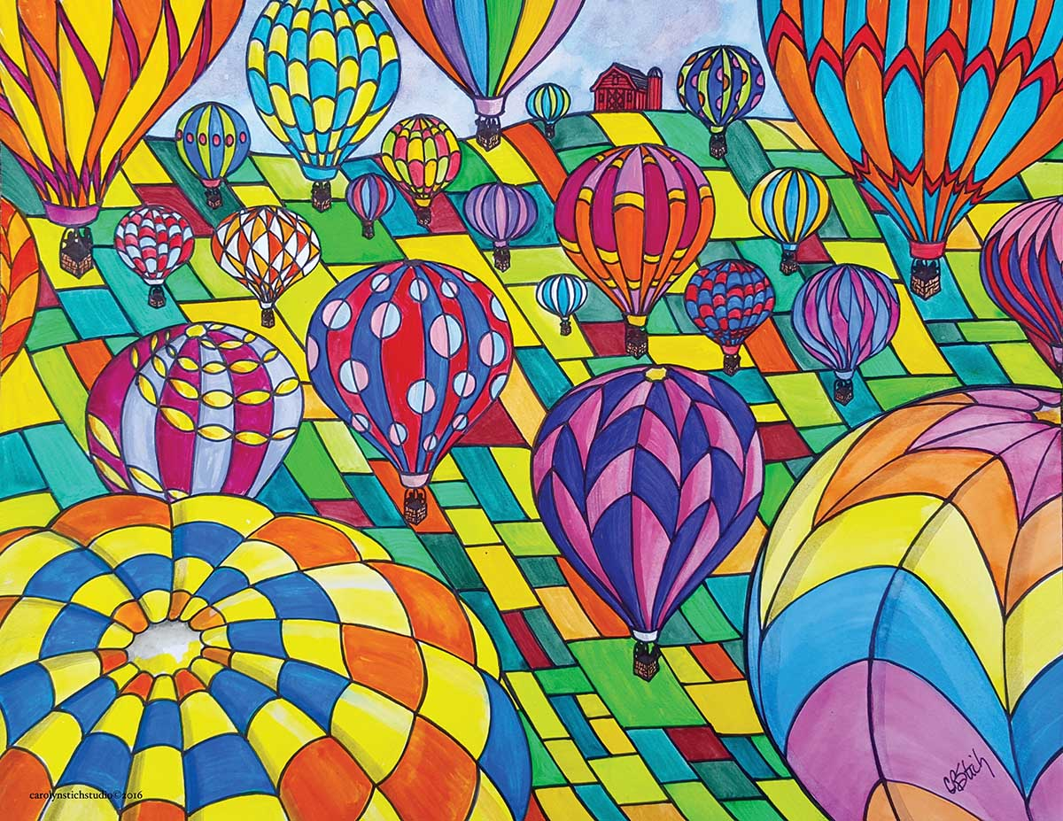 Up, Up & Away Balloons Jigsaw Puzzle