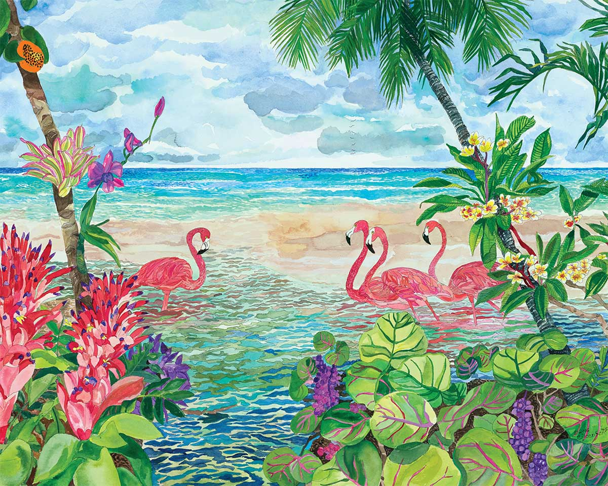 Join Us Beach Jigsaw Puzzle