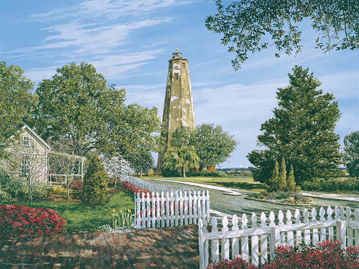 Bald Head Lighthouse Lighthouses Jigsaw Puzzle