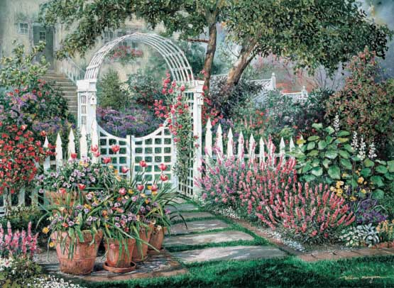 New Garden Summer Jigsaw Puzzle