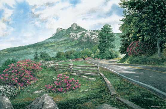 Grandfather Mountain Mountains Jigsaw Puzzle
