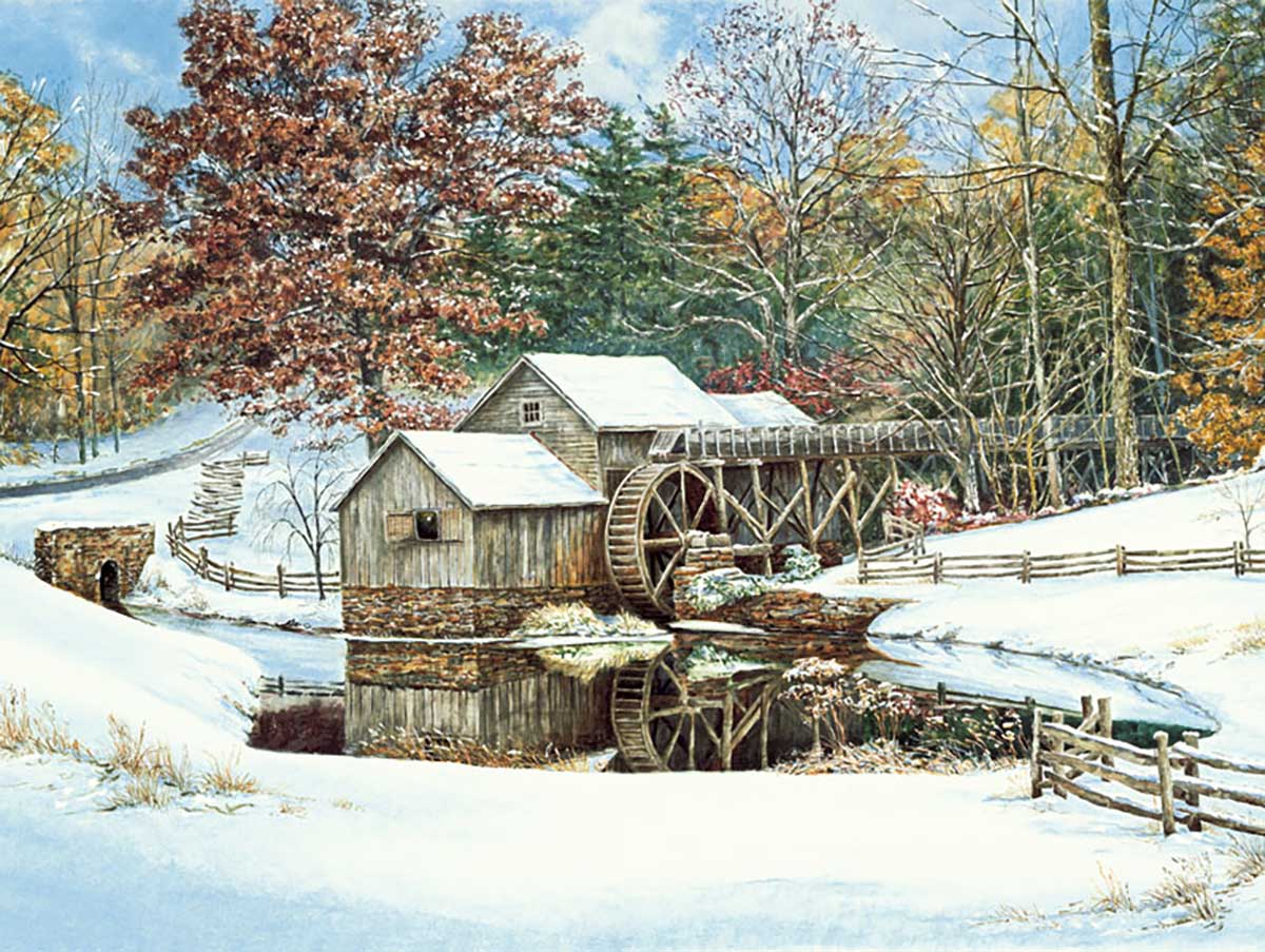 First Snow Snow Jigsaw Puzzle