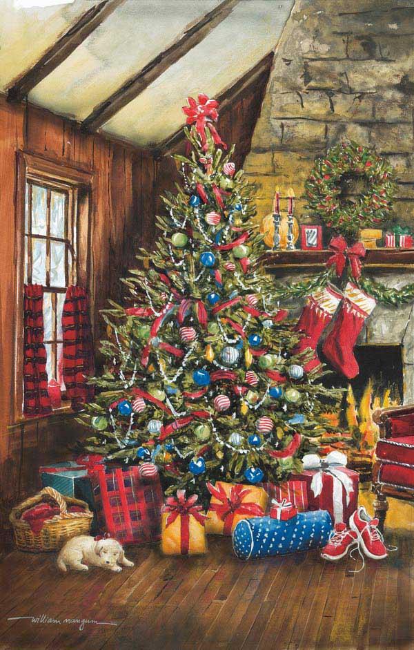 O' Christmas Tree Christmas Jigsaw Puzzle