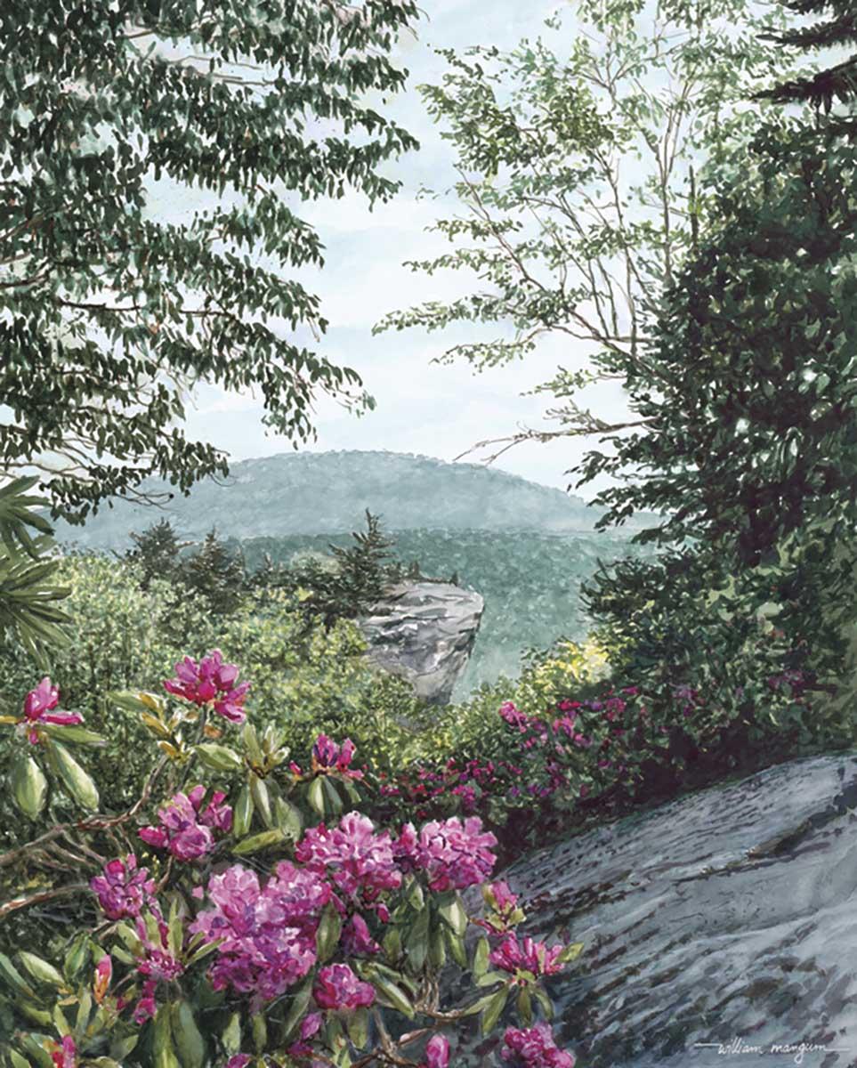Blue Ridge Majesty Mountains Jigsaw Puzzle