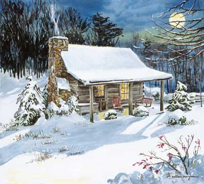 Time Stands Still Winter Jigsaw Puzzle