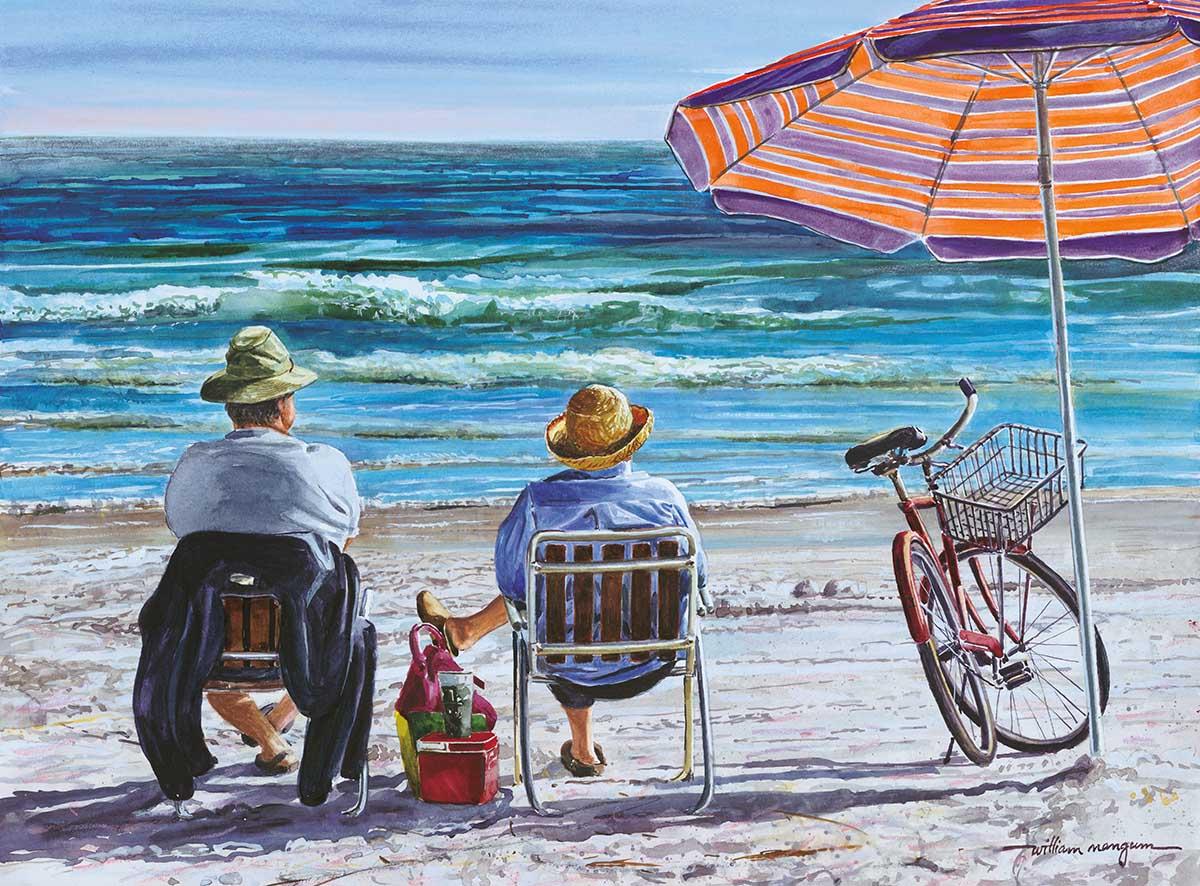 Idle Time Beach Jigsaw Puzzle