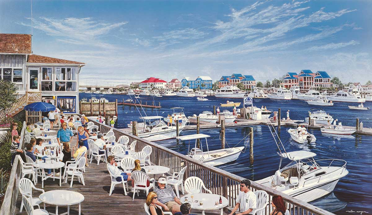 Dockside Beach Jigsaw Puzzle