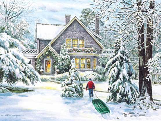 Winter Bliss Winter Jigsaw Puzzle