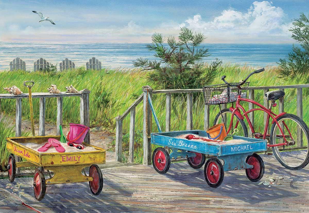 Beach Buddies Beach Jigsaw Puzzle