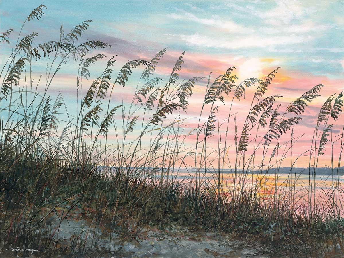 Coastal Breeze Beach Jigsaw Puzzle