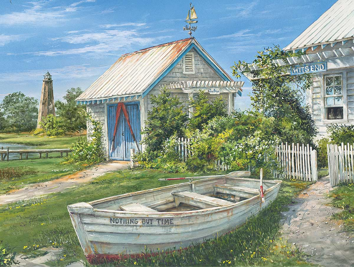Wit's End - Scratch and Dent Beach Jigsaw Puzzle