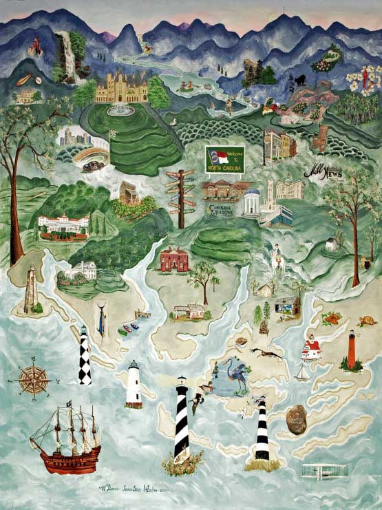 All Things NC Seascape / Coastal Living Jigsaw Puzzle