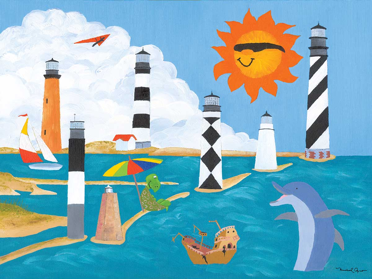 Summer Vacation Beach Jigsaw Puzzle