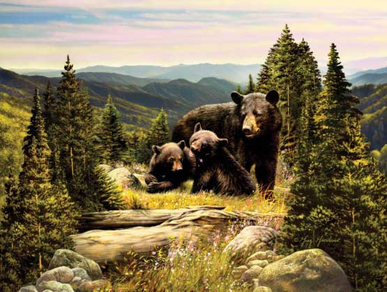 Enchanted Bears Jigsaw Puzzle