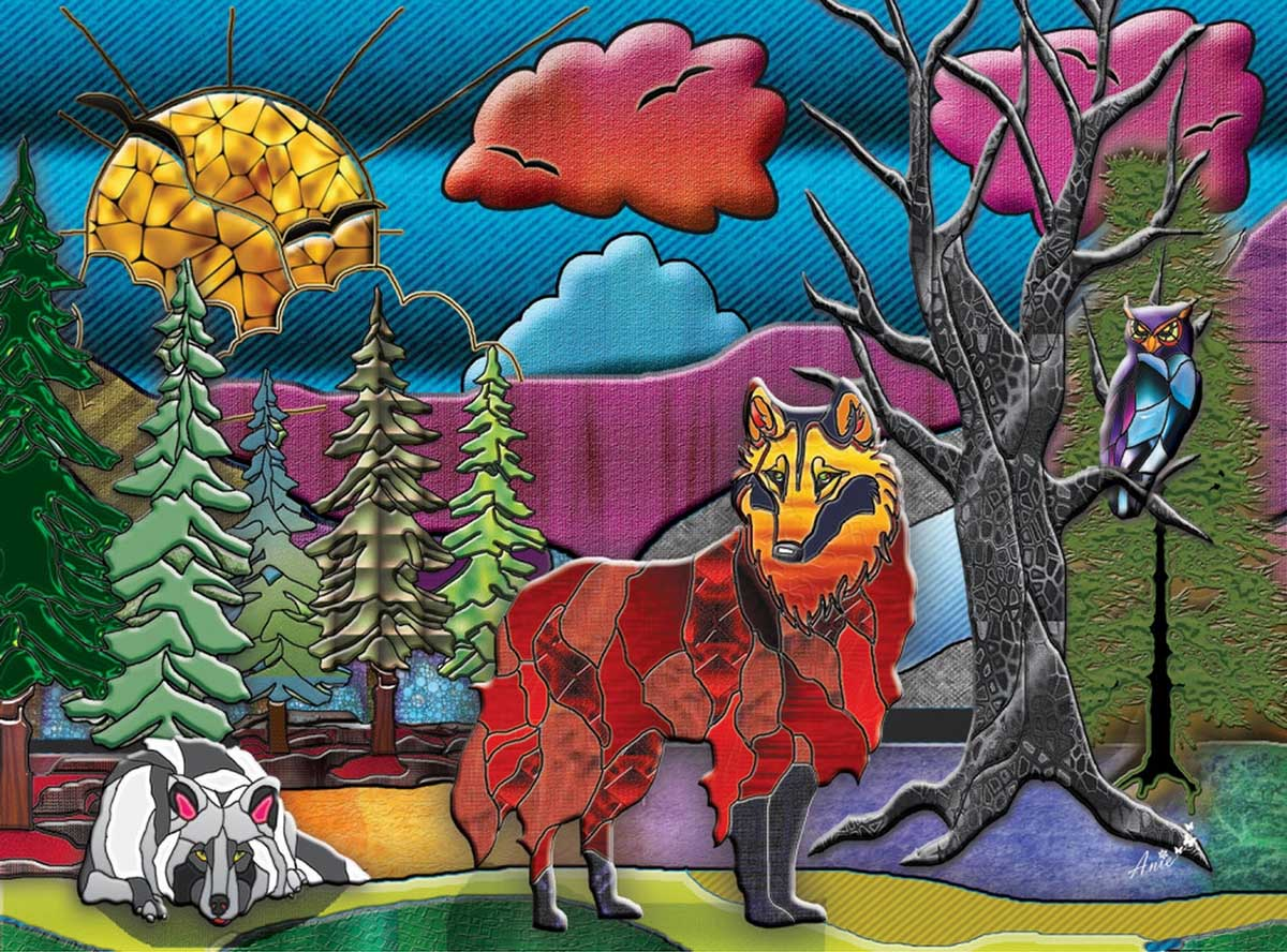 Wolves Wolves Jigsaw Puzzle