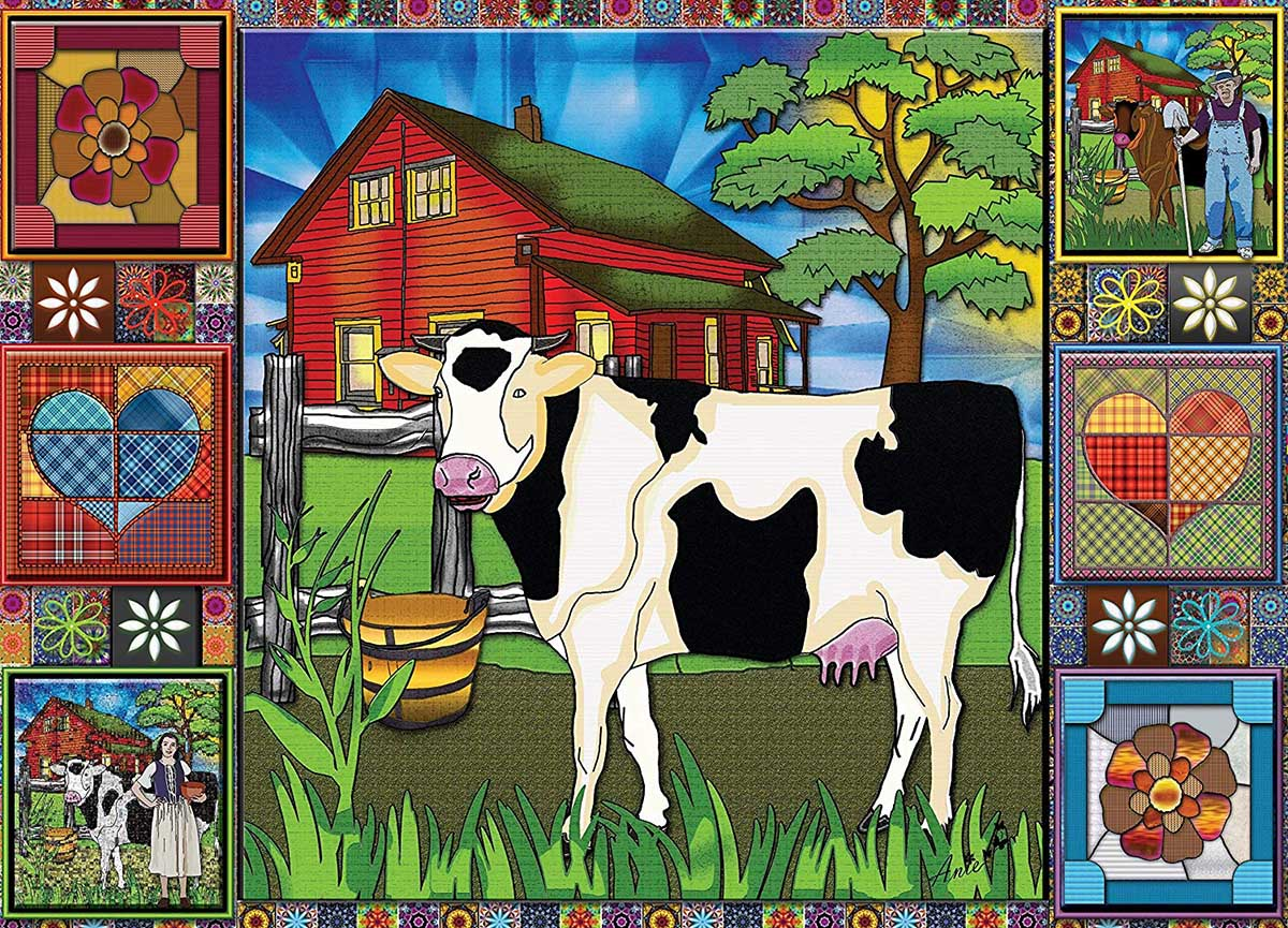 Countryside Feeling Countryside Jigsaw Puzzle