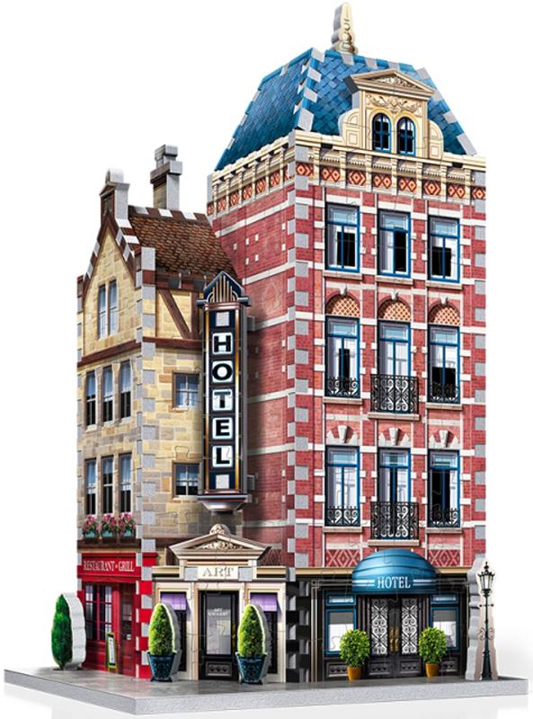 Hotel - Urbania Street Scene Jigsaw Puzzle