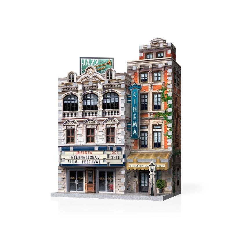 Cinema - Urbania Street Scene Jigsaw Puzzle