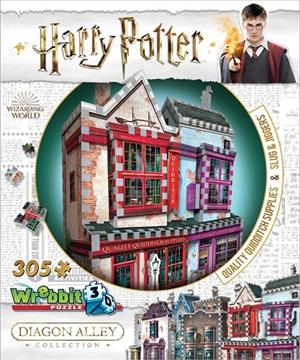Quality Quidditch Supplies & Slug & Jiggers Apothecary Harry Potter Jigsaw Puzzle
