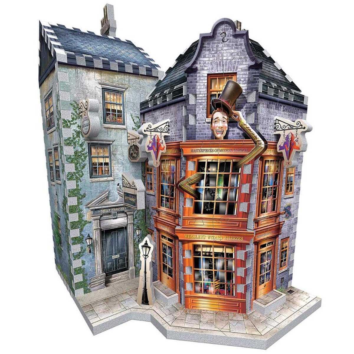 Weasleys' Wizard Wheezes & Daily Prophet New Harry Potter 3D Puzzle