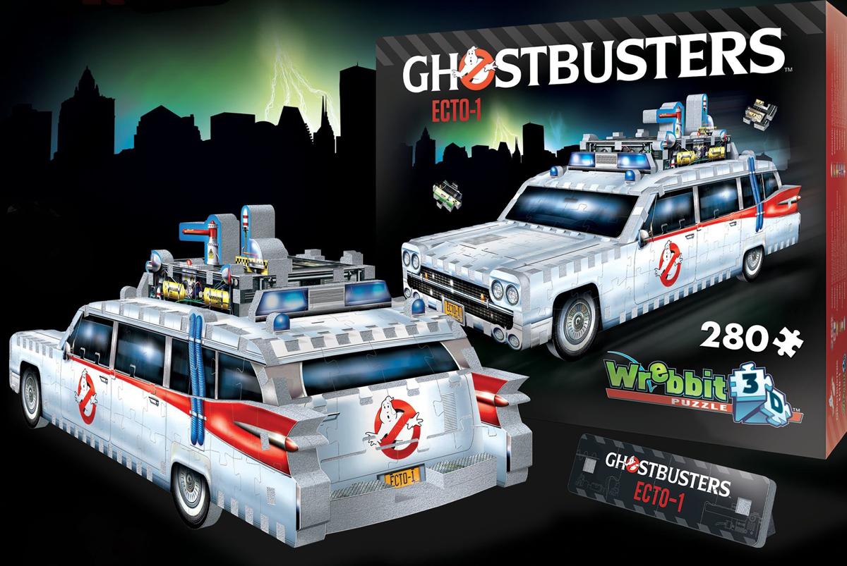Ghostbusters Ecto-1 Cars Jigsaw Puzzle