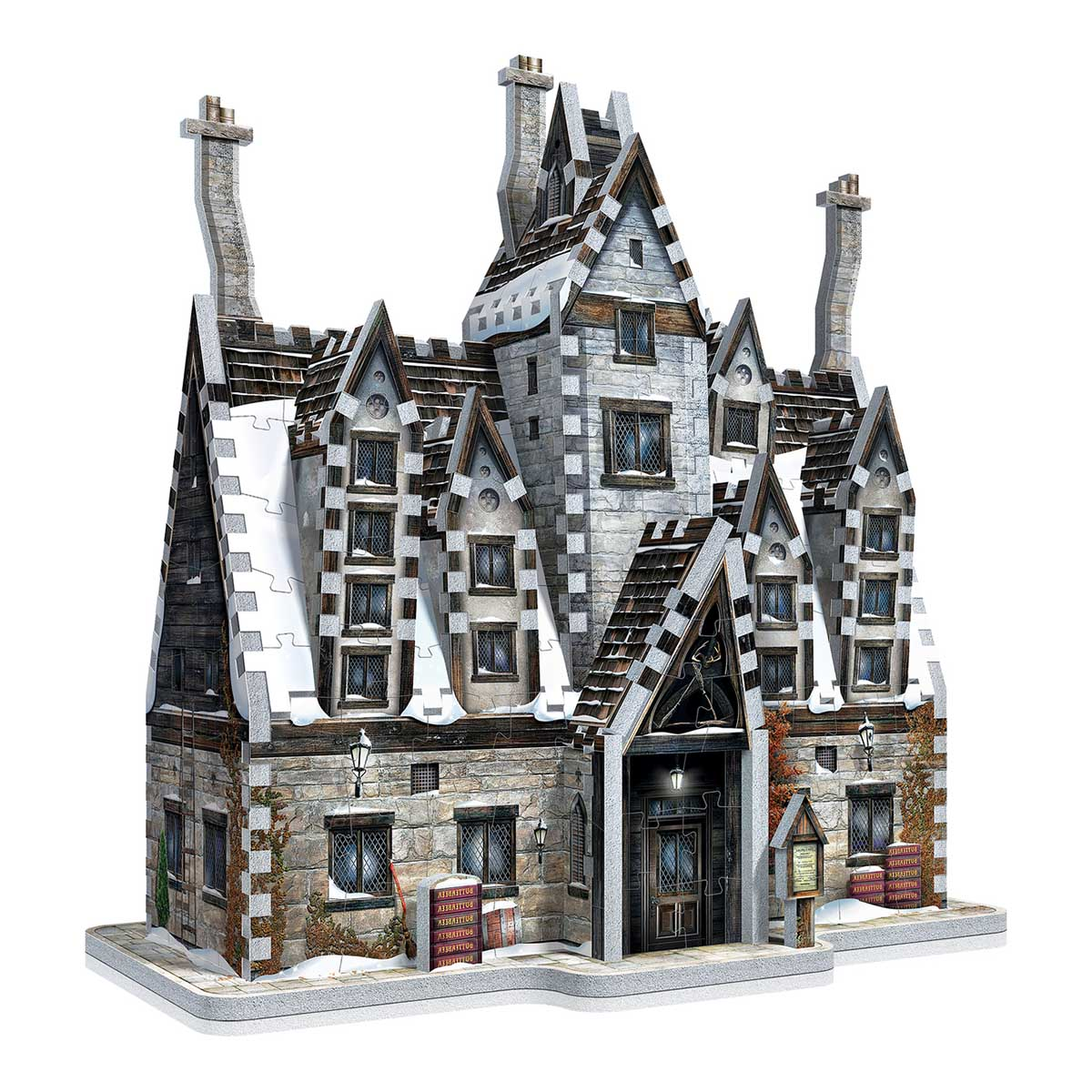 Hogsmede The Three Broomsticks Harry Potter 3D Puzzle