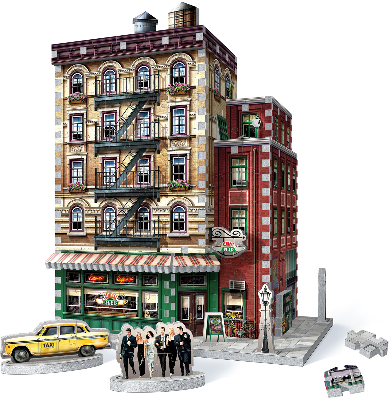 Friends - Central Perk Movies / Books / TV Jigsaw Puzzle