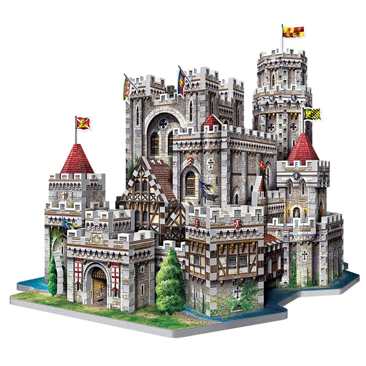 King Arthur's Camelot Fantasy Jigsaw Puzzle