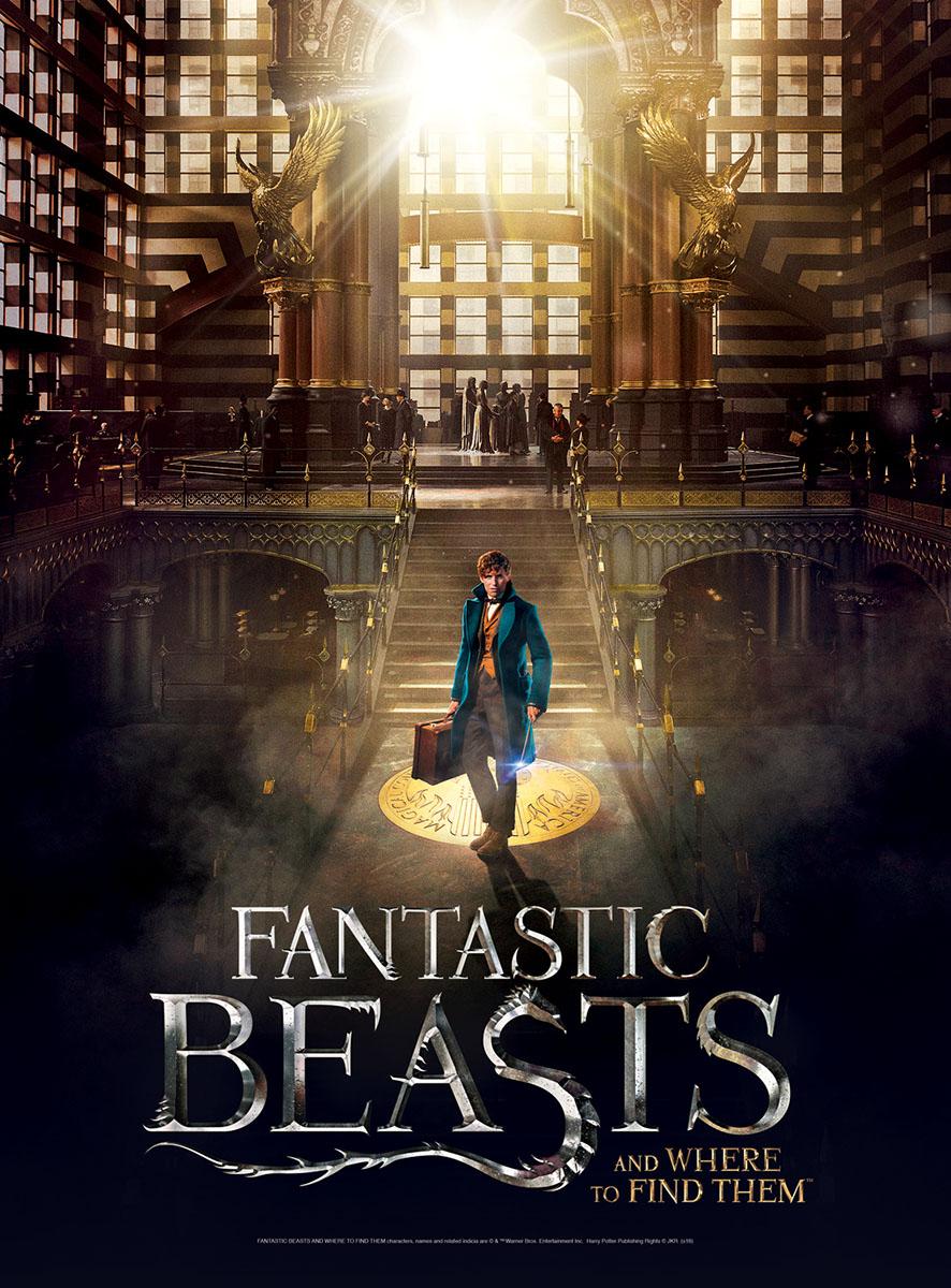 Fantastic Beasts Macusa 3d Puzzle Puzzlewarehouse Com