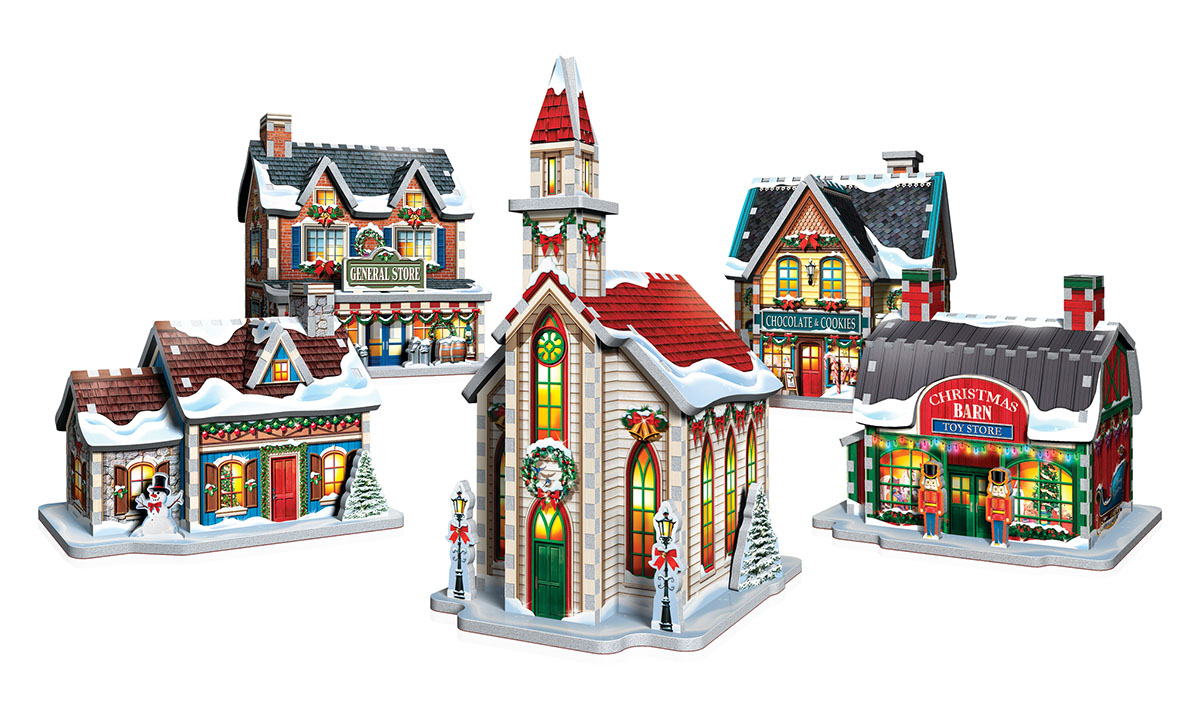 Christmas Village - Scratch and Dent Christmas Jigsaw Puzzle