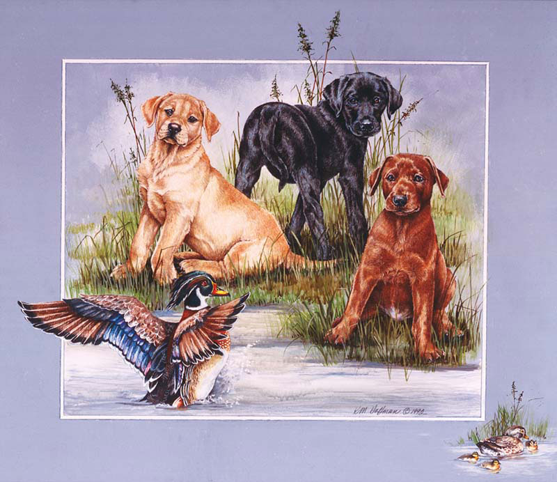 Shore Patrol Dogs Jigsaw Puzzle