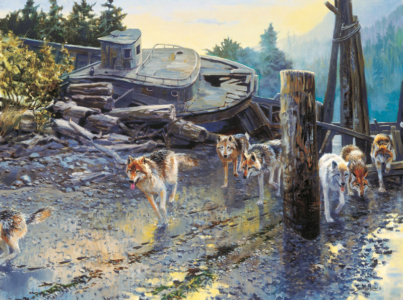 The Beachcombers Wolves Jigsaw Puzzle