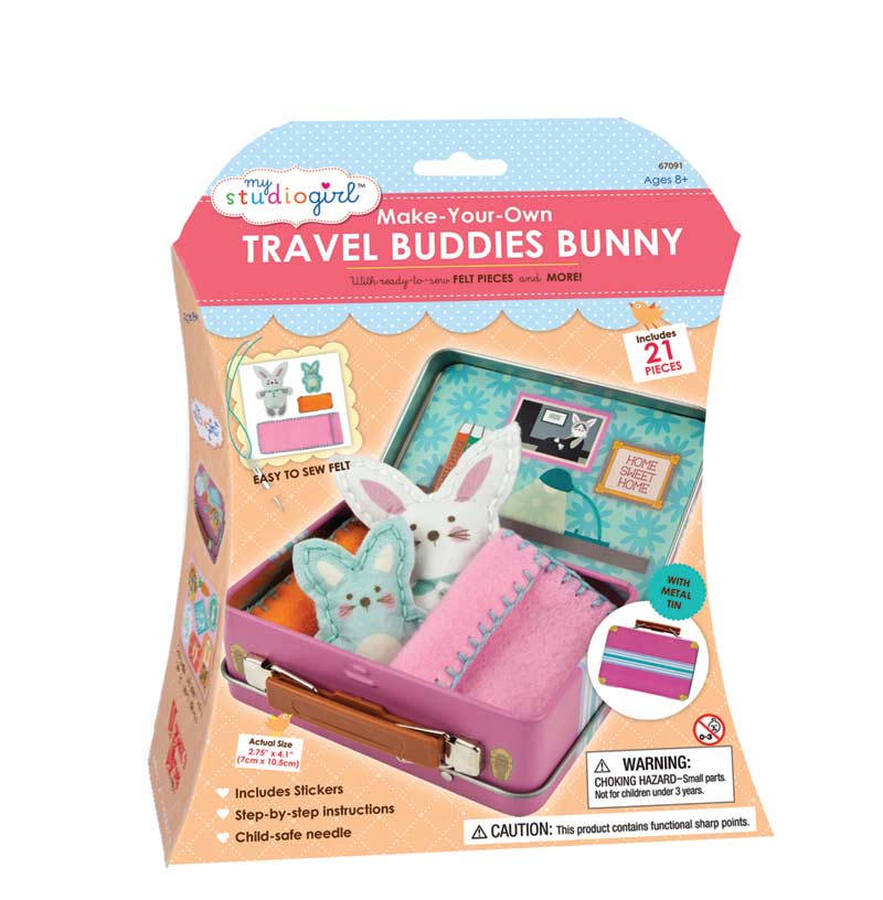 Travel Buddies - Bunny Other Animals Toy