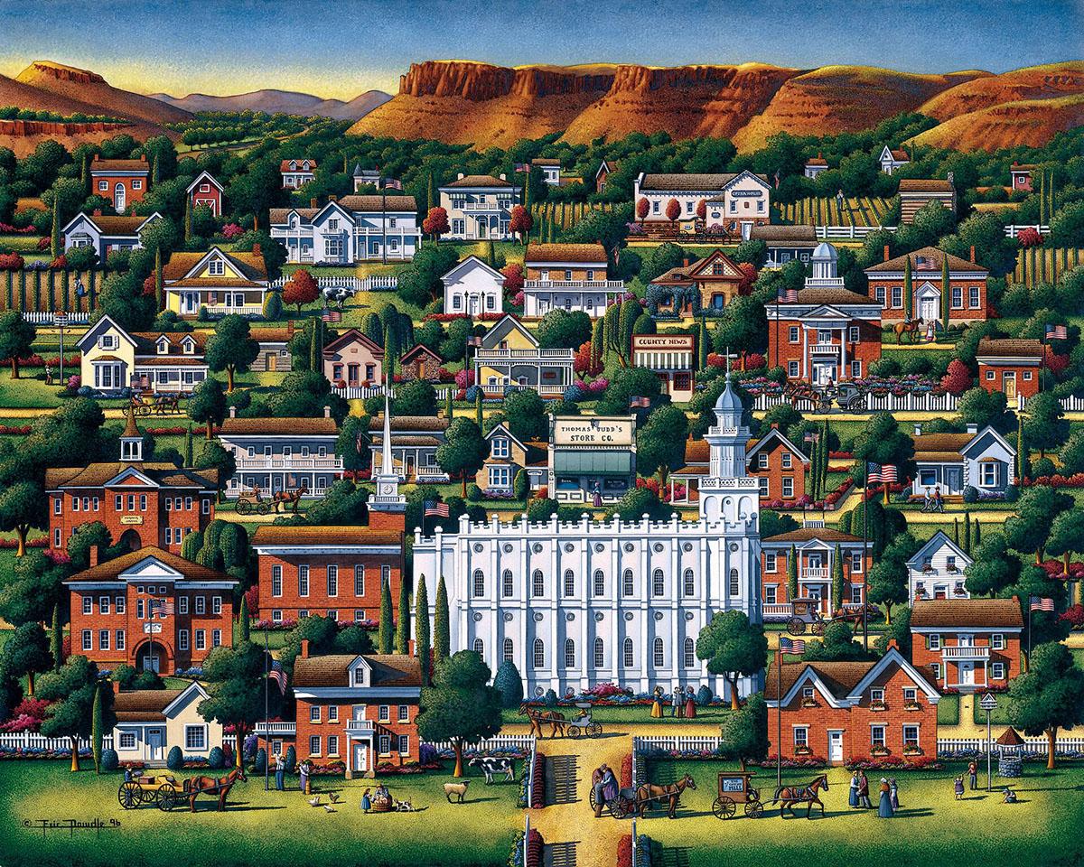 St. George Americana & Folk Art Jigsaw Puzzle